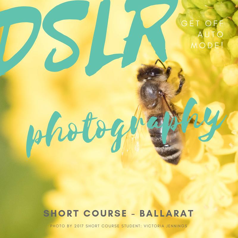 Ballarat photography course
